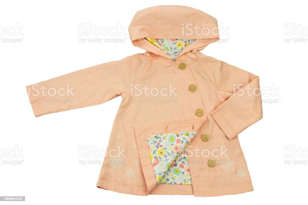 buy online a486b 6dafb Modische Frühjahr Und Sommer Mantel Für Kleine Mädchen Isoliert Auf Weiss  Mode Kinder Stockfoto und mehr Bilder von Anzug