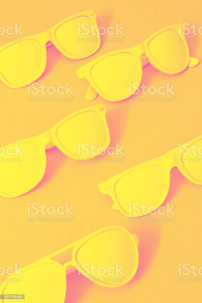 fashionable summer sunglasses. stock photo