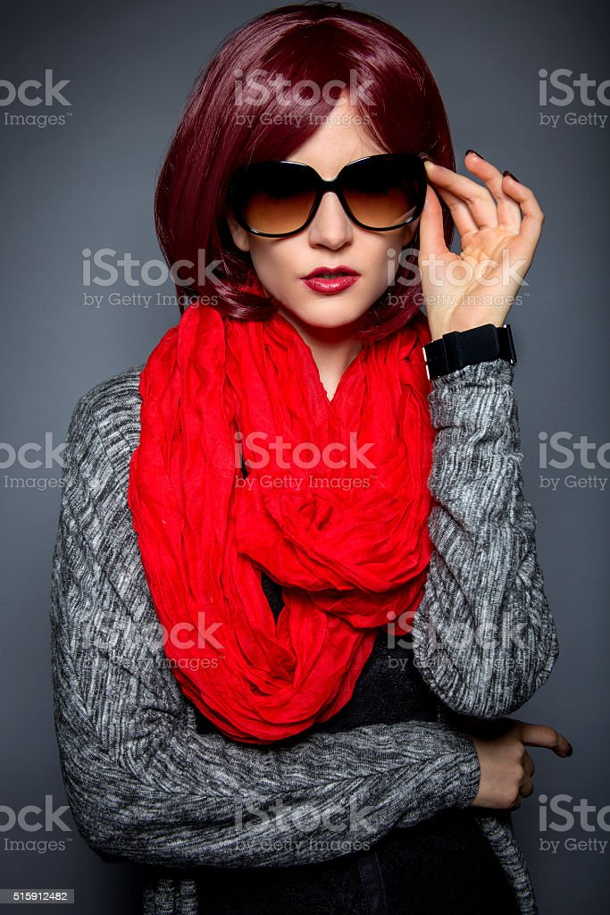 Fashionable Sunglasses stock photo