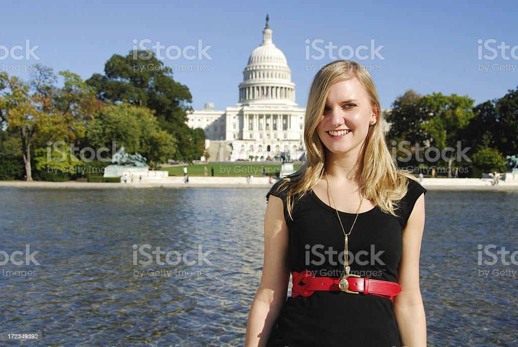 Moda de turista foto de stock libre de derechos