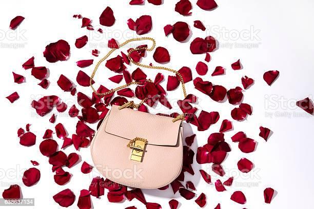 Fashionable women handbag with red rose petals picture id638637134?b=1&k=6&m=638637134&s=612x612&h=prbsthwsietd vfmqzbtnxlnirxcik2o3kl4pkrpgdu=