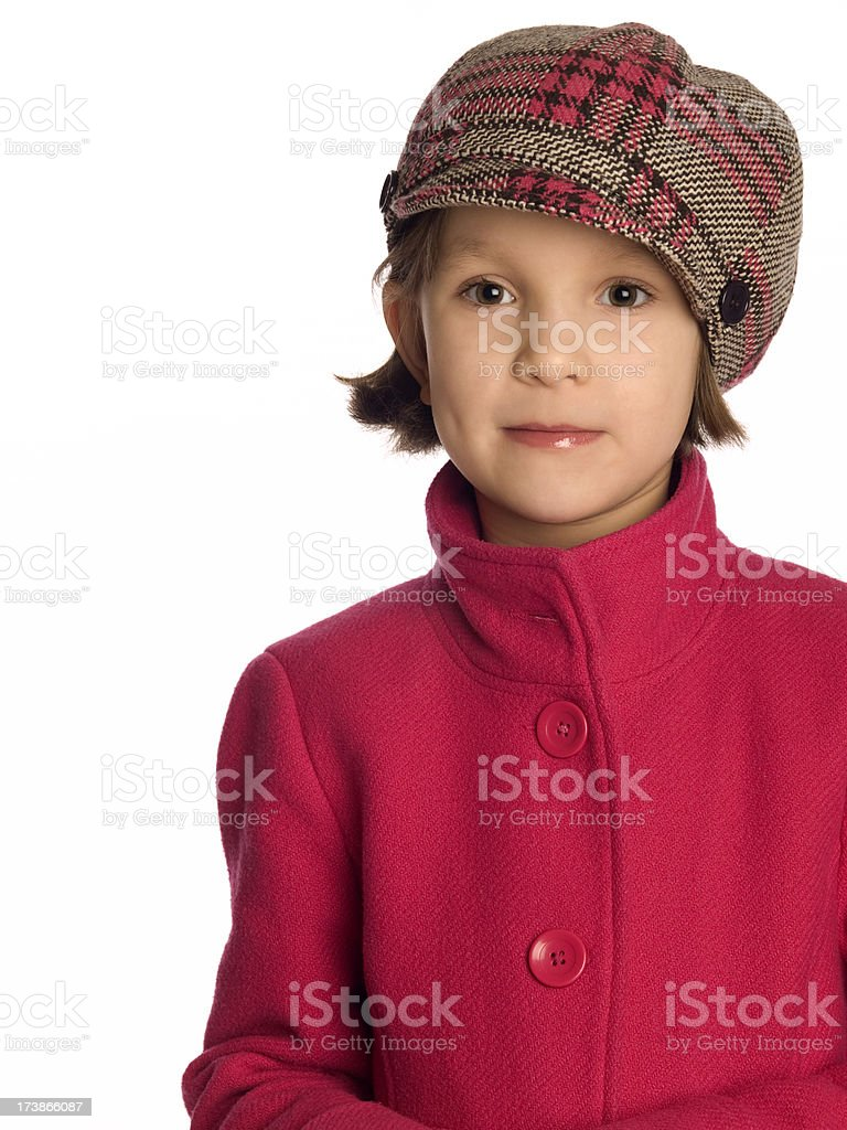 Fashionable Young Girl royalty-free stock photo