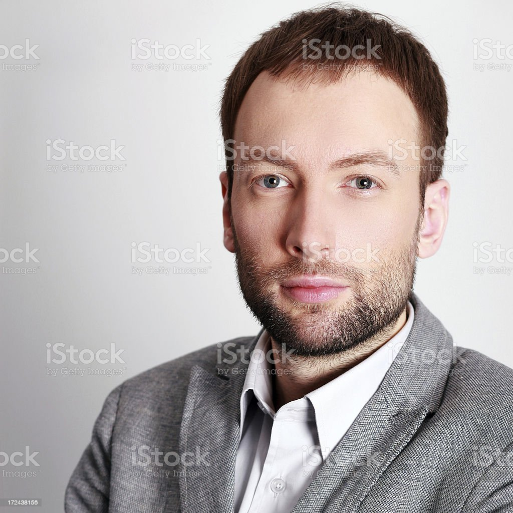 Fashionable young man portrait royalty-free stock photo