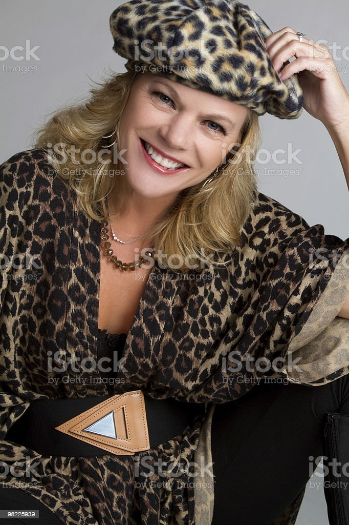 Fasion Model royalty-free stock photo