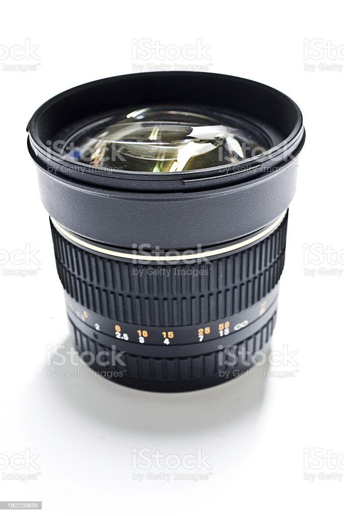 fast 85 mm lens stock photo