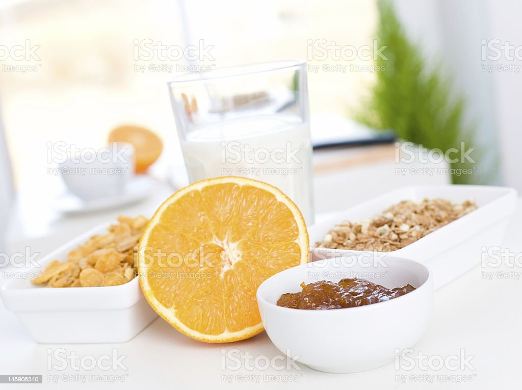 fast and tasty breakfast royalty-free stock photo