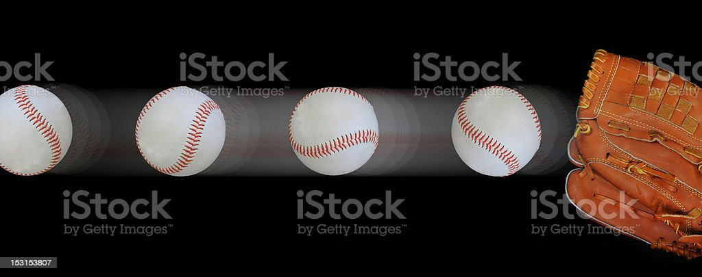 Fast Ball stock photo