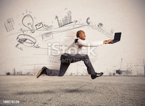 istock Fast business 166578139