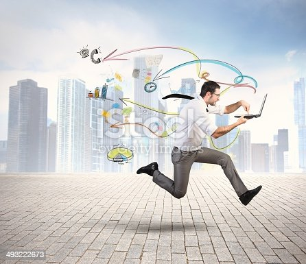 istock Fast business 493222673