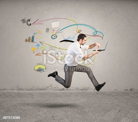 istock Fast business 497513095