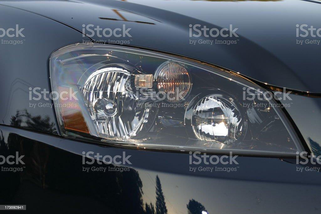 Fast Car Light royalty-free stock photo