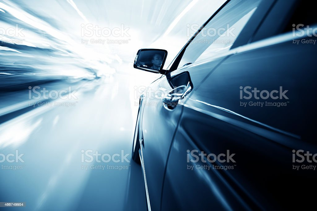 fast car - Royalty-free 2015 Stock Photo