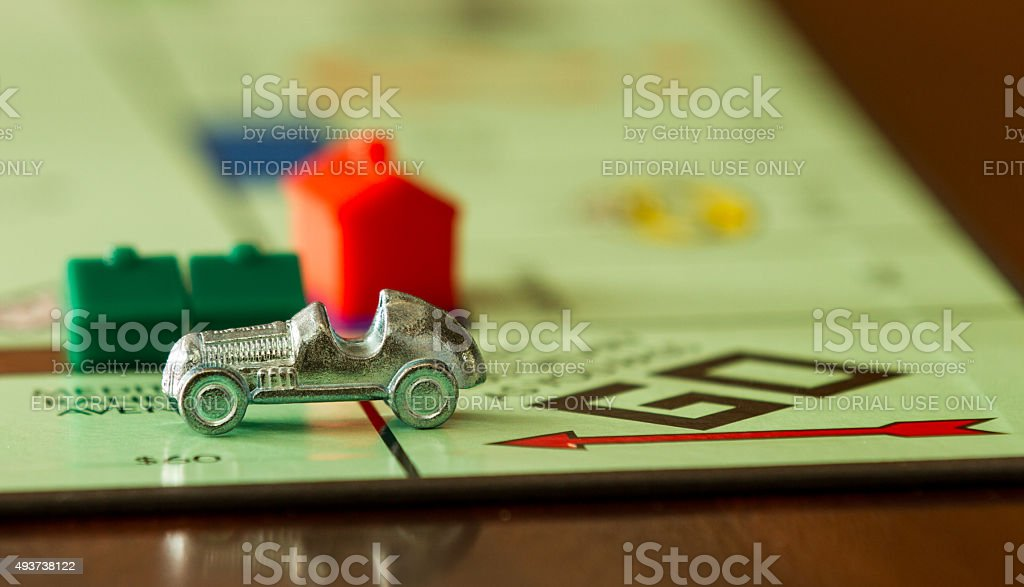 Fast car stock photo