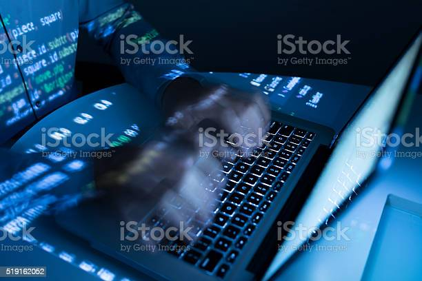 Fast Coding Stock Photo - Download Image Now