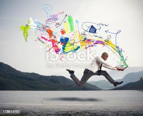 istock Fast creative business 178614157