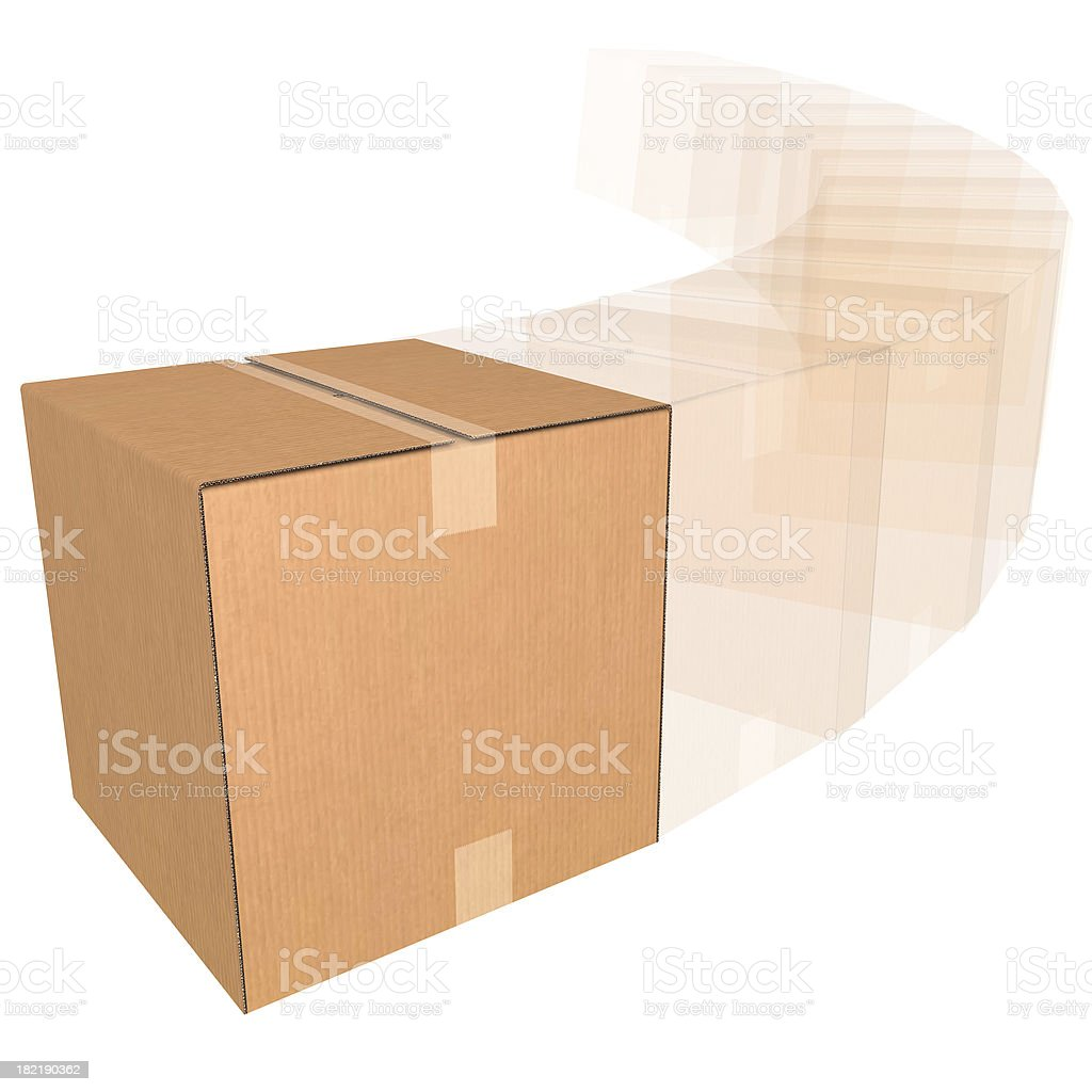Fast Delivery (Blank) royalty-free stock photo
