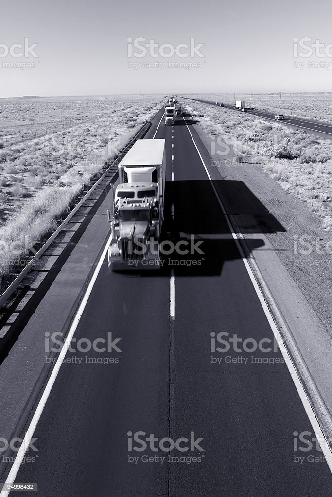 Fast delivery (motion) stock photo