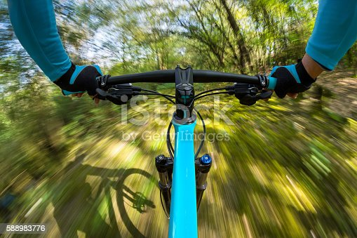 istock fast dynamic bicycle 588983776