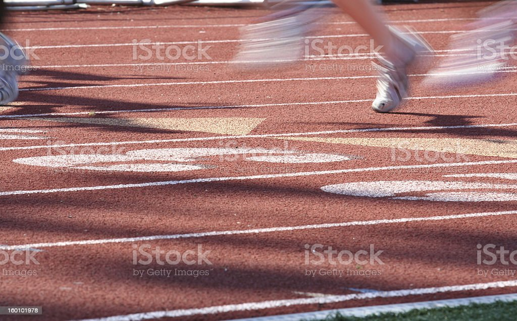 Fast Feet stock photo