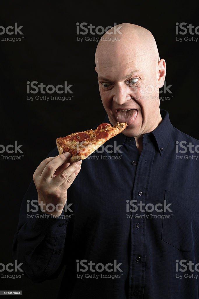 Fast Food Addiction royalty-free stock photo