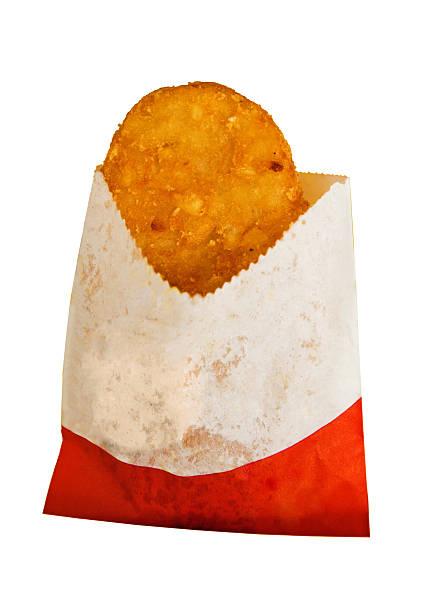 fast-food-frühstück - haschee stock-fotos und bilder