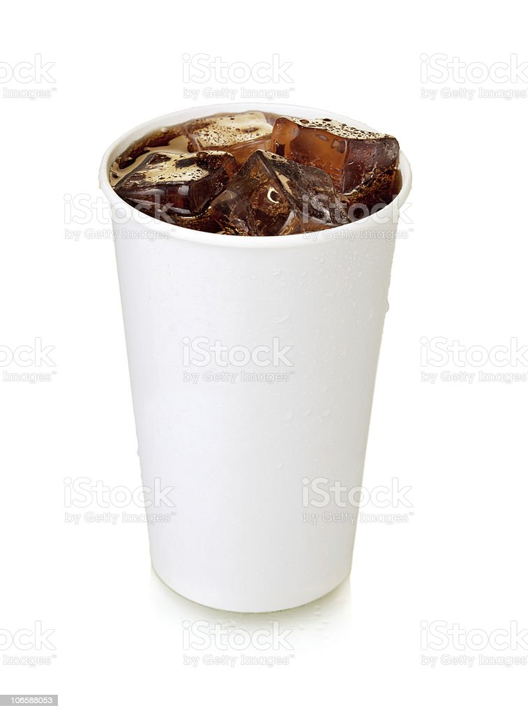 Fast food cola stock photo
