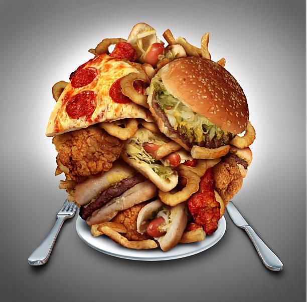 fast food diet - 不健康飲食 個照片及圖片檔