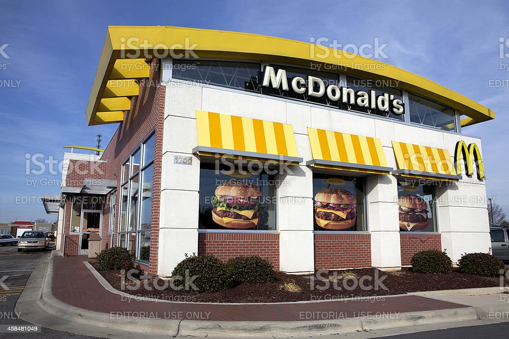 Fast Food Icon McDonalds royalty-free stock photo