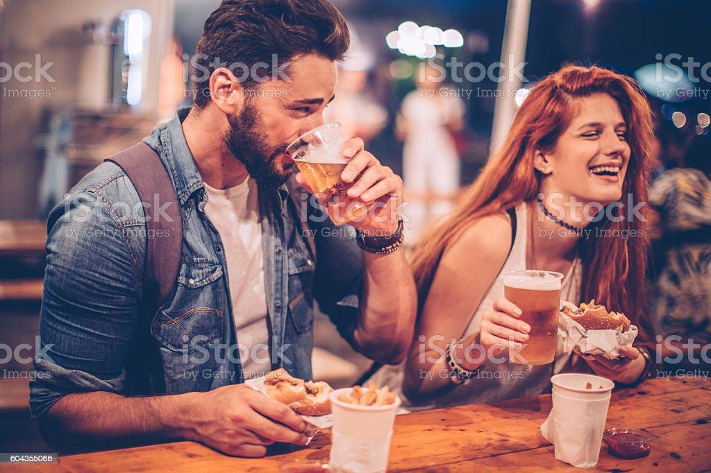 dating fast food dating app girl initiates