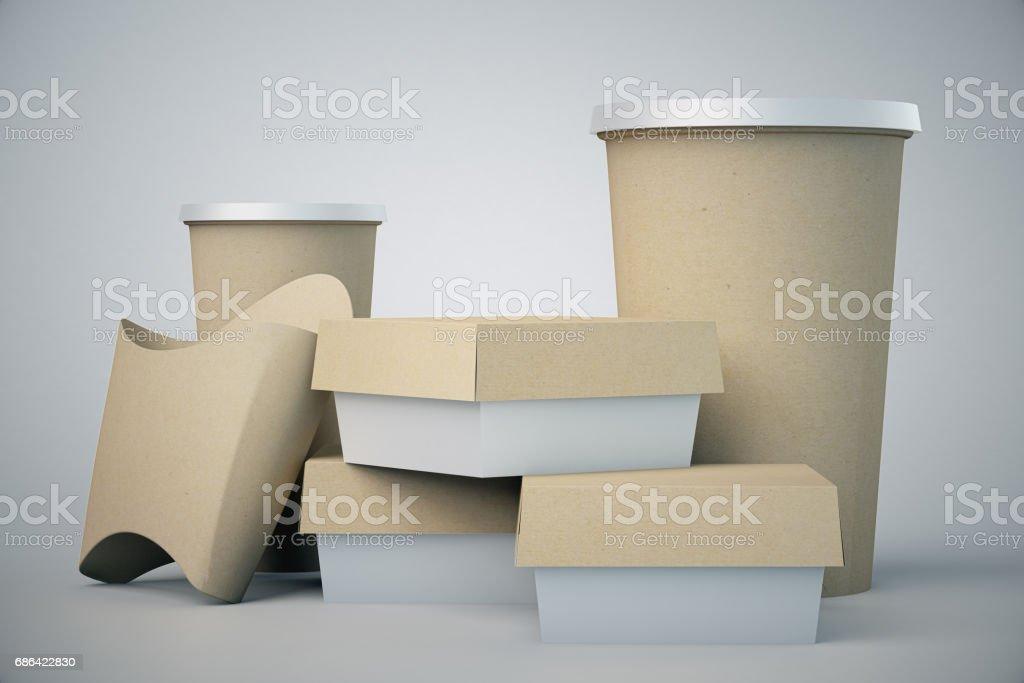 Emballage de fast food - Photo