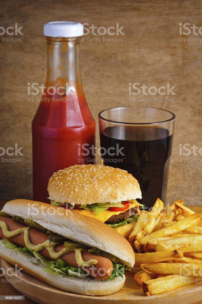 fast-food – Foto
