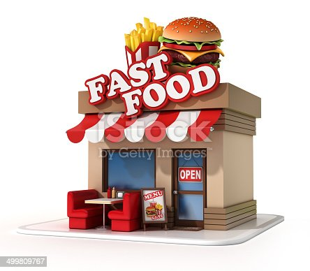 istock fast food restaurant 3d illustration 499809767