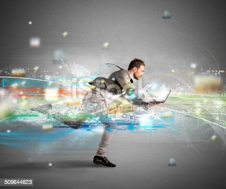 istock Fast internet concept 509644623