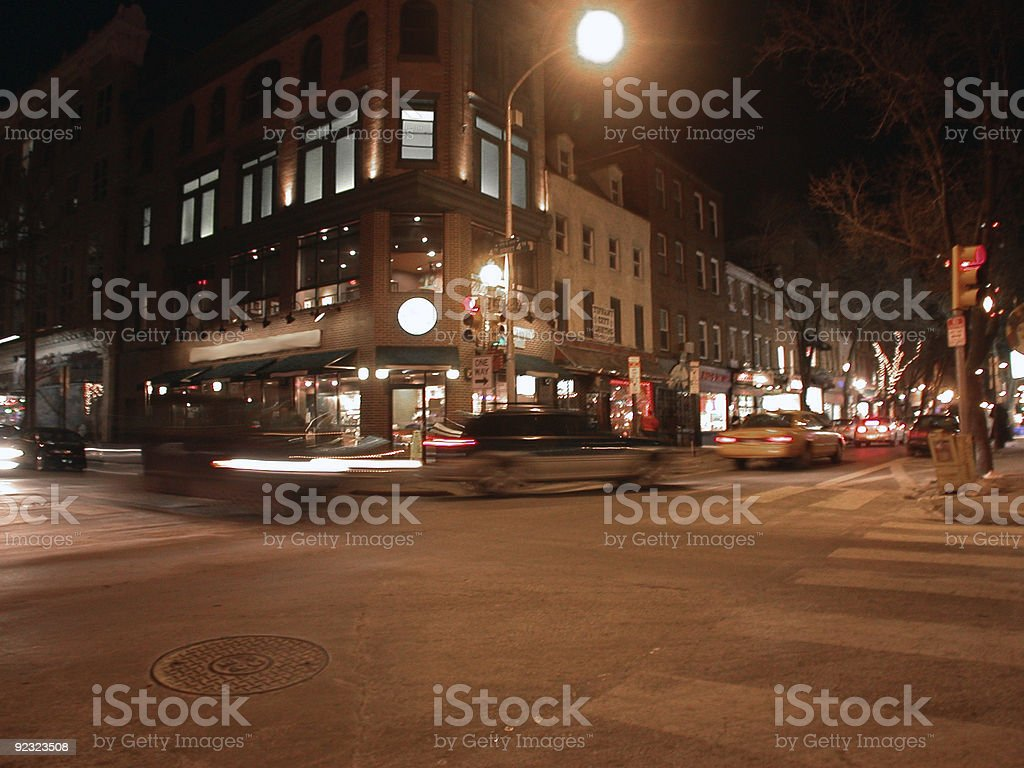 fast life in the city royalty-free stock photo