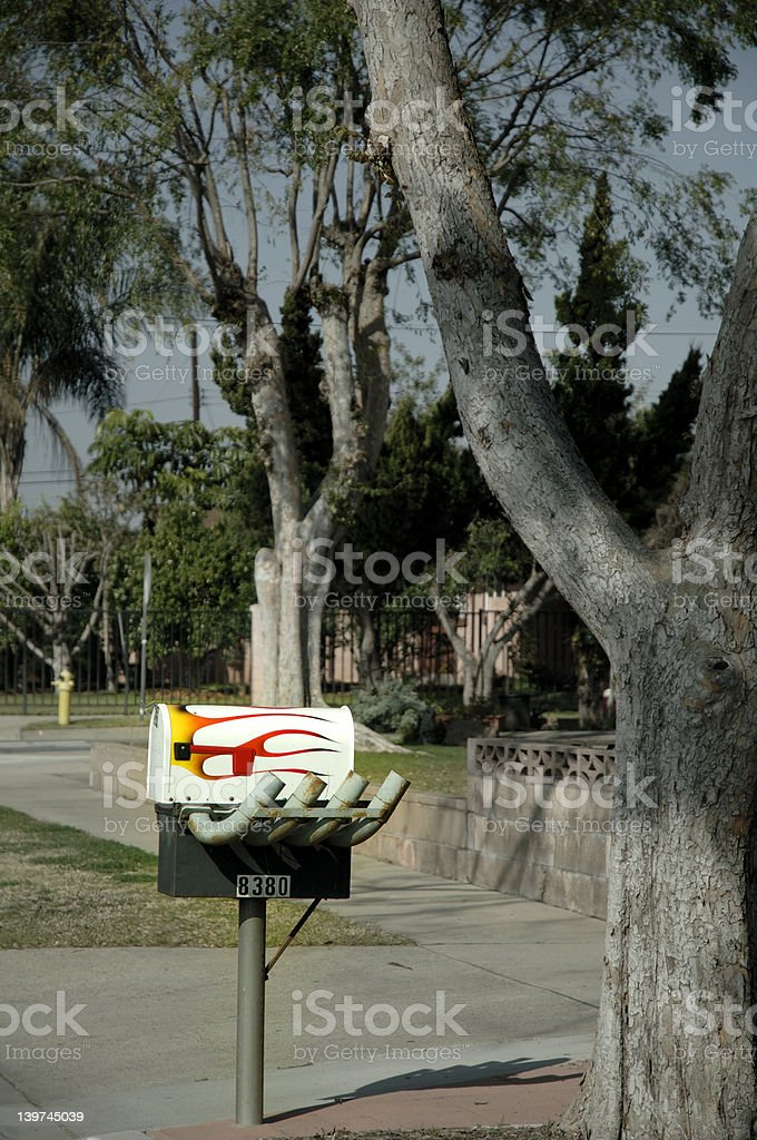 Fast Mail stock photo
