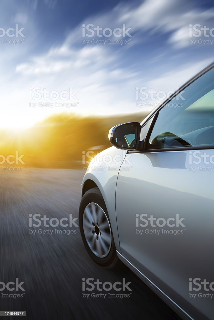 Fast motion stock photo