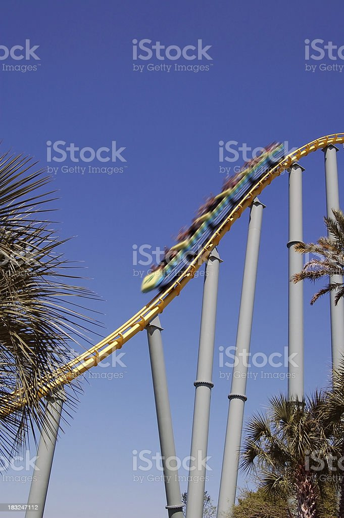 fast ride royalty-free stock photo