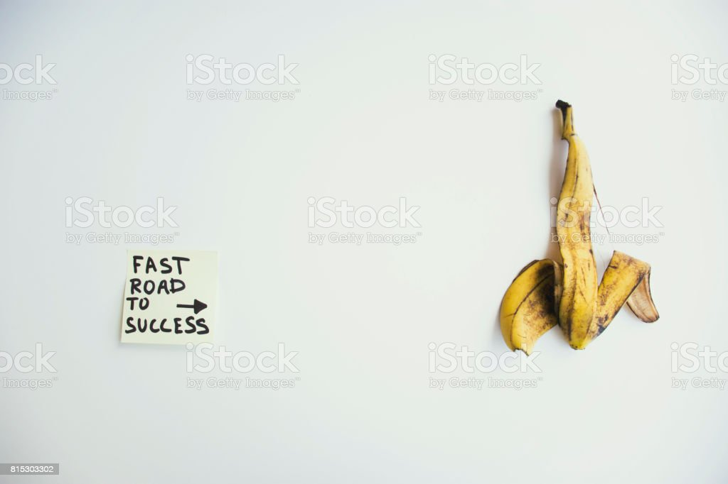 Fast road to success stock photo