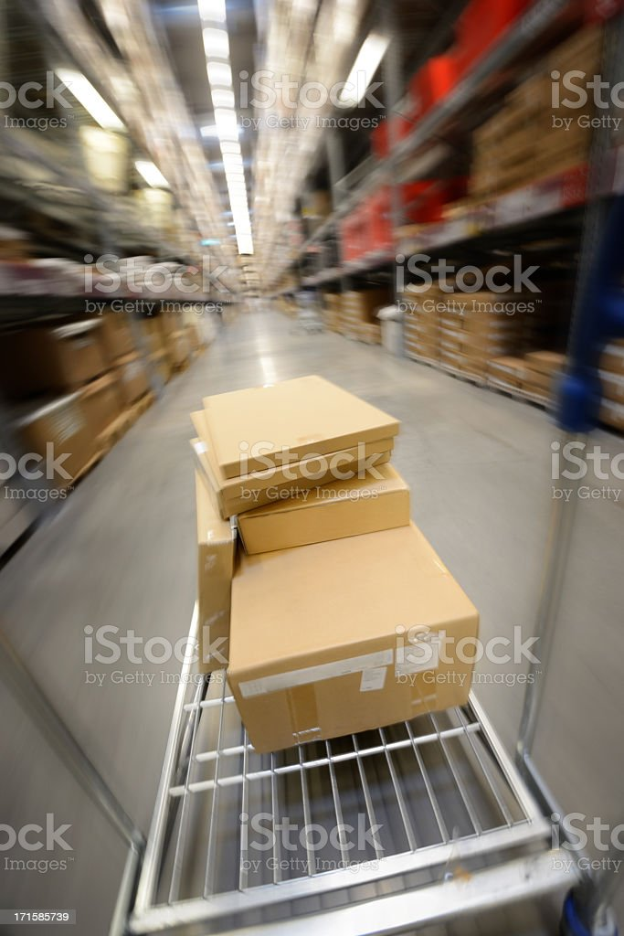 Fast Shipping Concept stock photo
