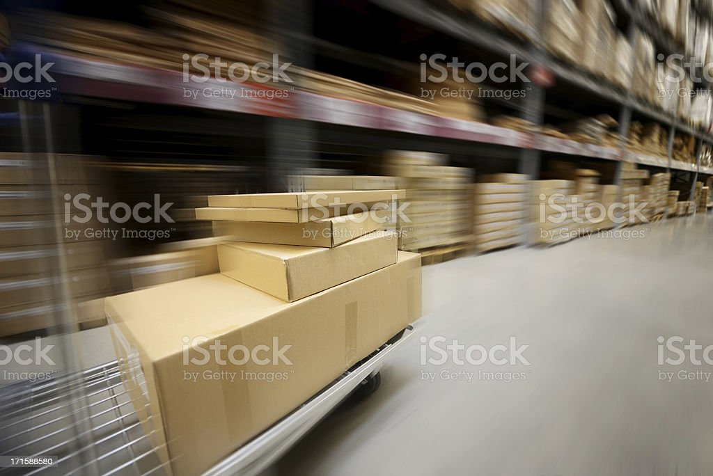 Fast Shipping Concept royalty-free stock photo