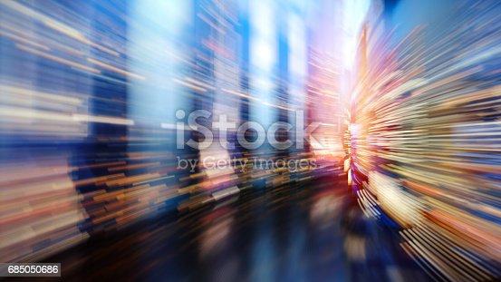 istock Fast speed dataflow 685050686