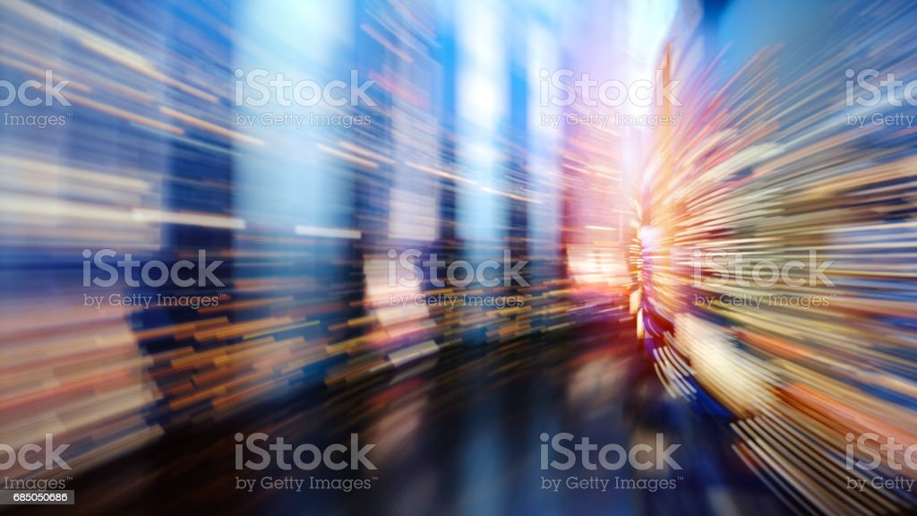 Fast speed dataflow stock photo