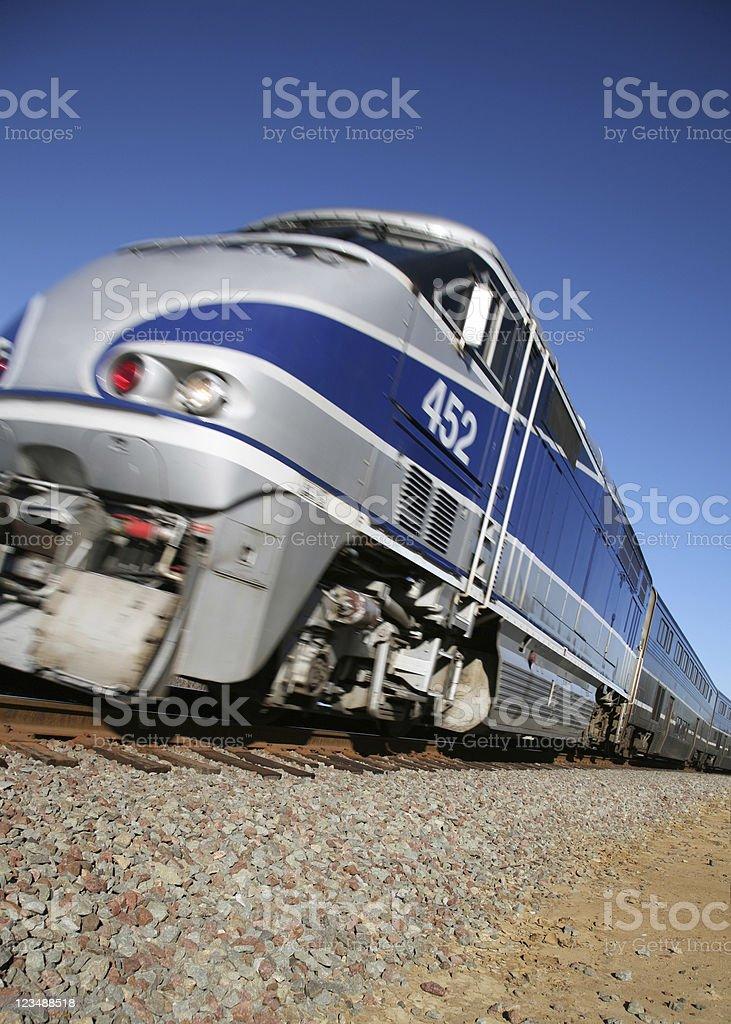 fast train royalty-free stock photo
