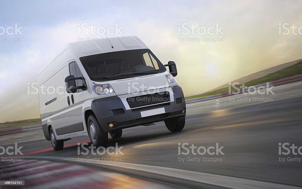 Fast transport royalty-free stock photo