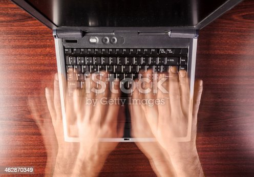 istock fast typing 462870349