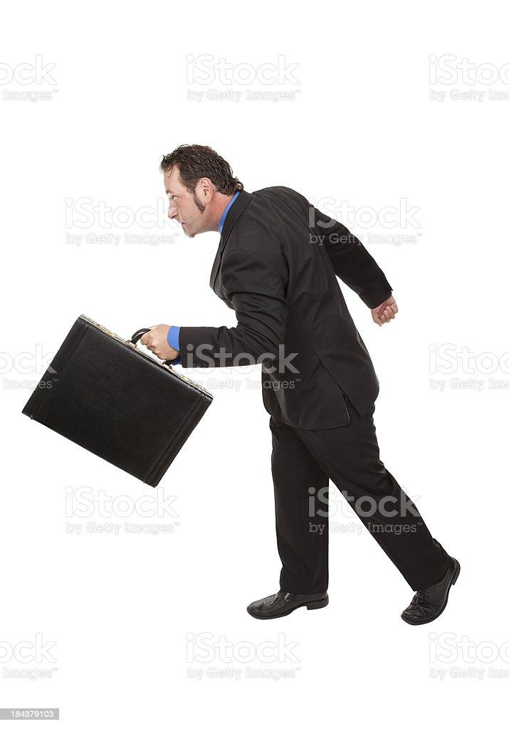 Business Mann zu Fuß schnell – Foto