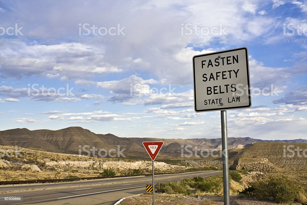 Fasten your belt royalty-free stock photo