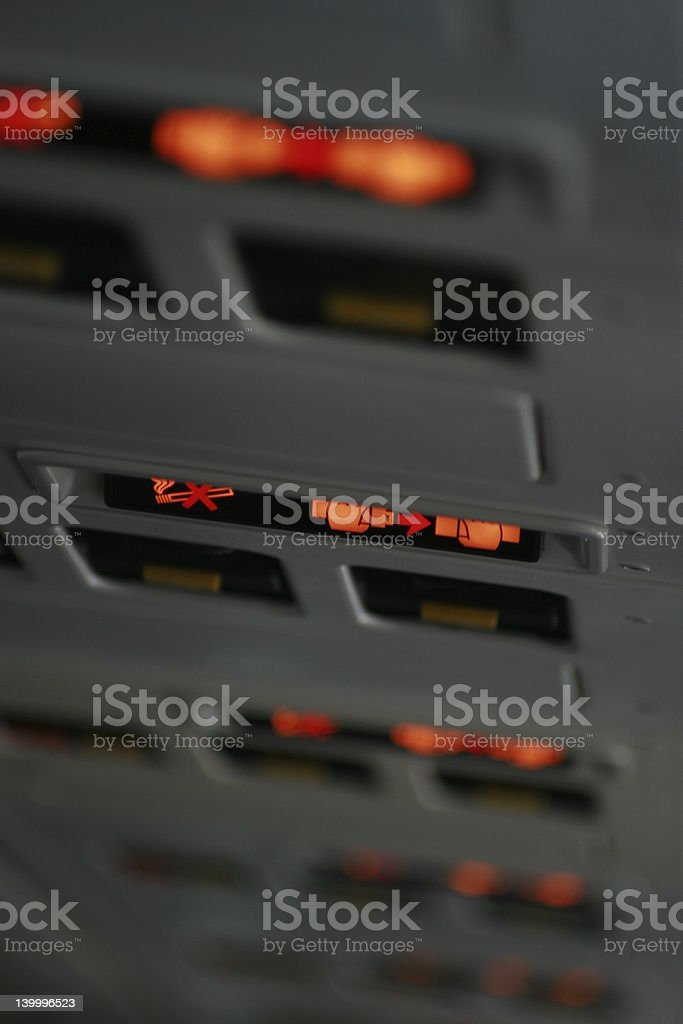 Fasten your seat belt! royalty-free stock photo