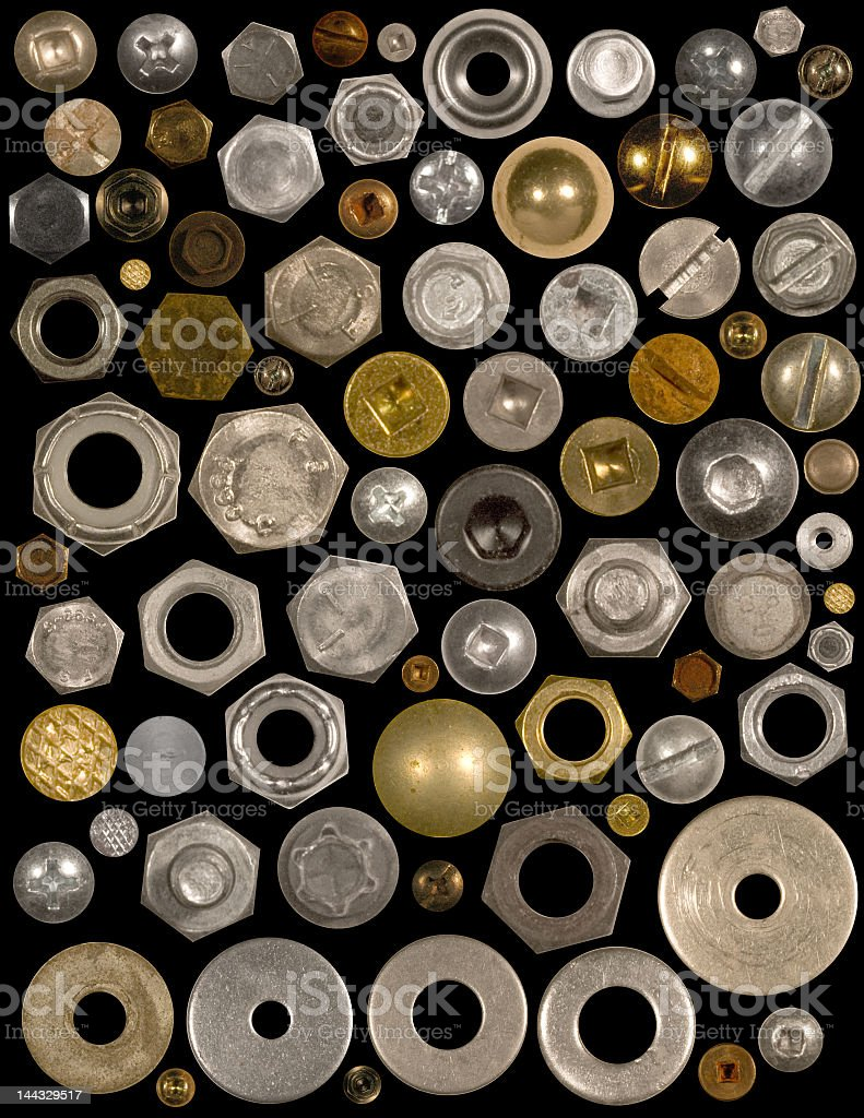Fasteners royalty-free stock photo