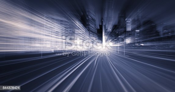 821915804 istock photo Faster than the speed of light 544328424